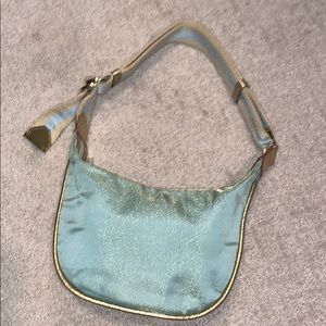 EUC Gucci Mint Green Metallic bag